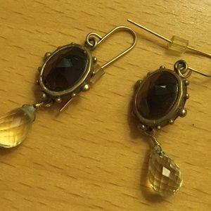 Gold Tone Pierced Earrings